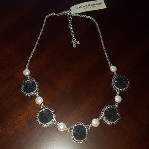Lucky Brand Necklace W/Semi Precious Stones